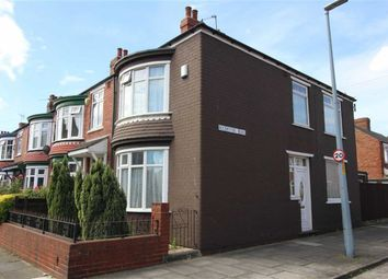 Thumbnail 3 bedroom end terrace house for sale in Rochester Road, Middlesbrough