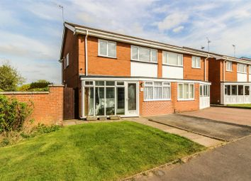 Thumbnail 3 bedroom semi-detached house for sale in Parklands Avenue, Leamington Spa