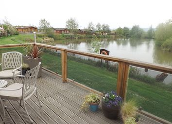Thumbnail 2 bed lodge for sale in Fossil Bank, The Springs, Lower Moor, Nr. Pershore
