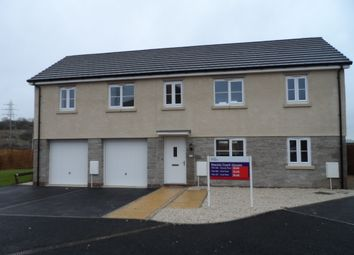 Thumbnail 1 bed flat to rent in Heol Cambell, Bridgend
