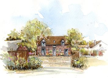 Thumbnail 4 bed detached house for sale in Coach Road, Stourpaine, Blandford Forum, Dorset