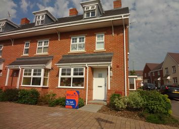 Thumbnail 4 bed town house to rent in Downside Road, Widley, Waterlooville