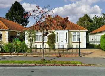 Thumbnail 3 bed detached bungalow for sale in Lansdowne Road, Ewell West, Surrey