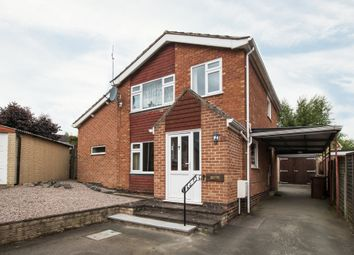 Thumbnail 3 bed detached house for sale in Balmoral Avenue, Shepshed, Loughborough