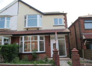 Thumbnail 4 bed semi-detached house to rent in Sedgley Avenue, Prestwich, Manchester
