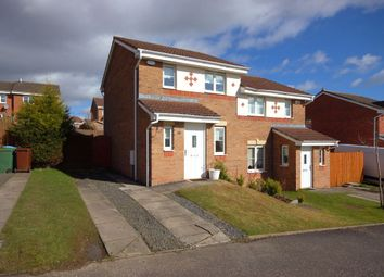 Thumbnail 2 bed semi-detached house for sale in Cedar Walk, Carfin, Motherwell
