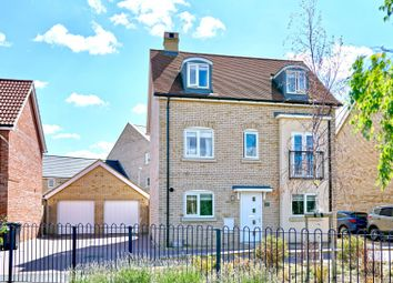 Thumbnail 4 bed detached house for sale in Daffodil Close, Eynesbury, St. Neots, Cambridgeshire