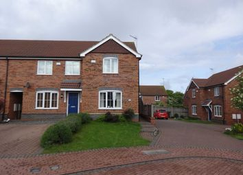 Thumbnail 2 bed semi-detached house to rent in Goosander Close, Barton-Upon-Humber