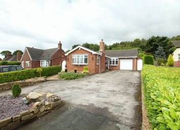 Thumbnail 3 bed detached bungalow for sale in Mow Cop Road, Mow Cop, Stoke-On-Trent