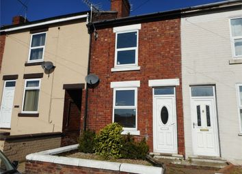 Thumbnail 2 bed terraced house for sale in Baker Street, Creswell, Worksop, Nottinghamshire