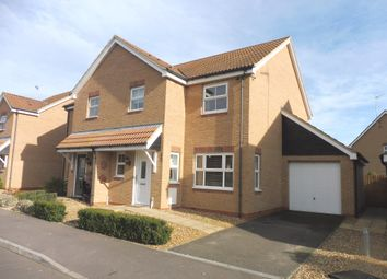 Thumbnail 3 bed semi-detached house for sale in Oxfield Drive, Gorefield, Wisbech