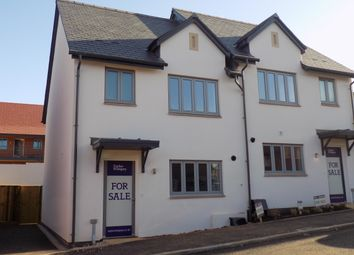 Thumbnail 3 bed semi-detached house for sale in Nicholas Way, Exmouth, Devon