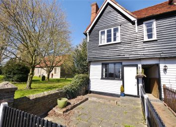 Thumbnail 2 bed end terrace house for sale in Post Office Cottages, The Street, High Ongar, Ongar