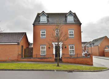 Thumbnail 5 bed detached house for sale in Pheasant Way, Cannock
