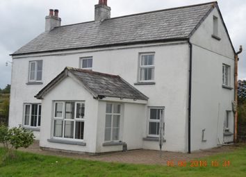 Thumbnail 3 bed detached house to rent in East Taphouse, Liskeard
