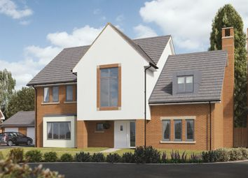 "Thumbnail 5 bedroom detached house for sale in ""Fern"" at Ark Royal Avenue, Exeter"