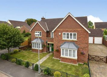 Thumbnail 5 bed detached house for sale in Cosford Close, Wroughton, Swindon
