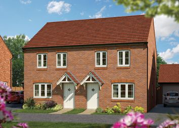 "Thumbnail 2 bed semi-detached house for sale in ""The Holly"" at Harbury Lane, Heathcote, Warwick"