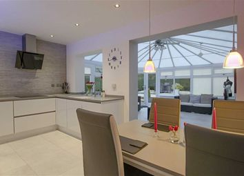 Thumbnail 3 bed semi-detached house for sale in Vale Court, Huncoat, Lancashire