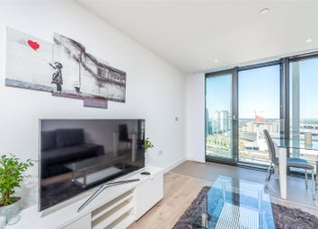 Thumbnail 1 bed flat for sale in Stratosphere Tower, 55 Great Eastern Road, London