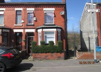 Thumbnail 2 bed terraced house to rent in Woodland Avenue, Gorton, Manchester
