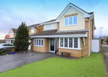 Thumbnail 4 bed detached house for sale in Meadow Dale, Chilton, Ferryhill