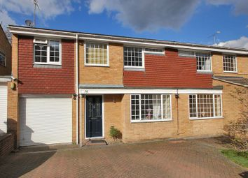 Thumbnail 4 bed semi-detached house for sale in Hazel Way, Crawley Down, West Sussex