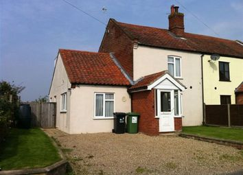 Thumbnail 3 bedroom cottage to rent in The Street, Hickling, Norwich