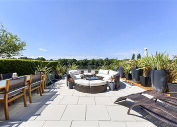 Chiswick Quay, London W4. 4 bed terraced house for sale