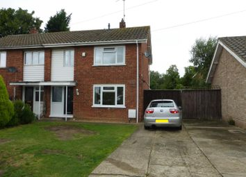Thumbnail 3 bed semi-detached house for sale in Royce Road, Alwalton, Peterborough