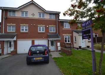 Thumbnail 3 bedroom town house to rent in Mossfield Close, Tyldesley, Manchester