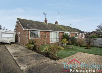 Thumbnail 2 bed semi-detached bungalow for sale in St. Nicholas Way, Potter Heigham, Great Yarmouth