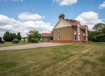Thumbnail 4 bed detached house for sale in Overcross, Banham, Norwich