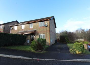 Thumbnail 3 bed semi-detached house to rent in Willow Close, Ebbw Vale