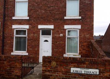 Thumbnail 2 bed flat to rent in Jubilee Terrace, Bedlington