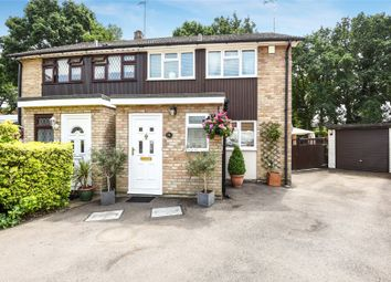 Thumbnail 3 bed semi-detached house for sale in Well Close, Camberley, Camberley, Surrey
