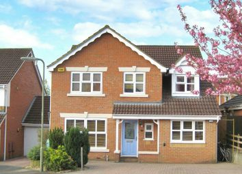 Thumbnail 5 bed detached house for sale in Burnhams Close, Andover