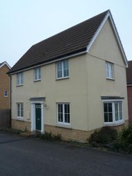 Thumbnail 3 bed detached house to rent in Siskin Street, Stowmarket