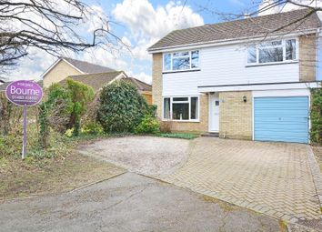 Thumbnail 4 bedroom detached house for sale in Merrow Copse, Guildford