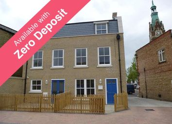 Thumbnail 3 bedroom semi-detached house to rent in Pocklington Court, Market Square, March