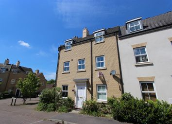 Thumbnail 3 bed town house for sale in Christie Drive, Hinchingbrooke Park, Huntingdon