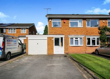 Thumbnail 3 bed semi-detached house for sale in Myton Drive, Shirley, Solihull