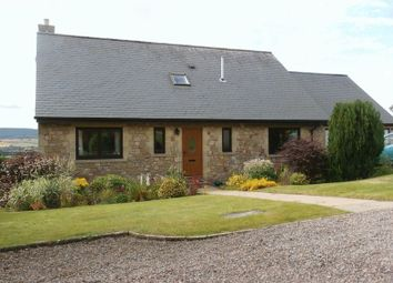 Thumbnail 4 bed detached house for sale in West Turn Pike, Glanton, Alnwick