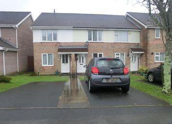Thumbnail 2 bedroom terraced house for sale in Ffynnon Samlet, Llansamlet