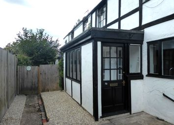 Thumbnail 2 bed terraced house to rent in Middle Wall, Whitstable