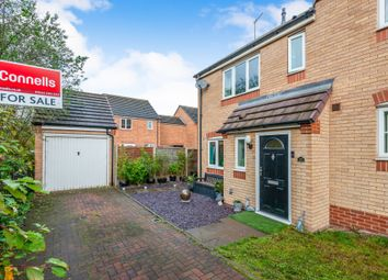 Thumbnail 3 bedroom end terrace house for sale in Peregrine Way, Heath Hayes, Cannock