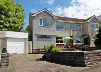 Thumbnail 3 bed semi-detached house for sale in Maelog Close, Pontyclun, Rhondda, Cynon, Taff.