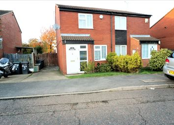 Thumbnail 2 bed semi-detached house to rent in Sparrow Close, Luton