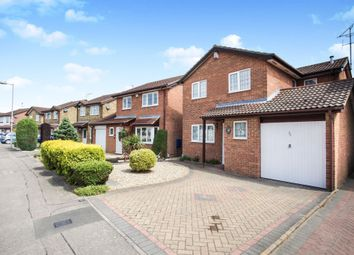 Thumbnail 4 bed detached house for sale in Kirby Drive, Luton