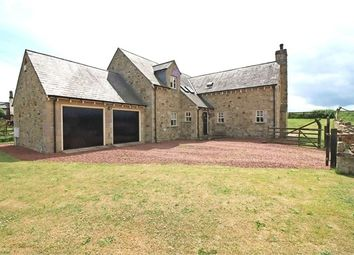 Thumbnail 4 bed detached house for sale in South End, Longhoughton, Alnwick, Northumberland